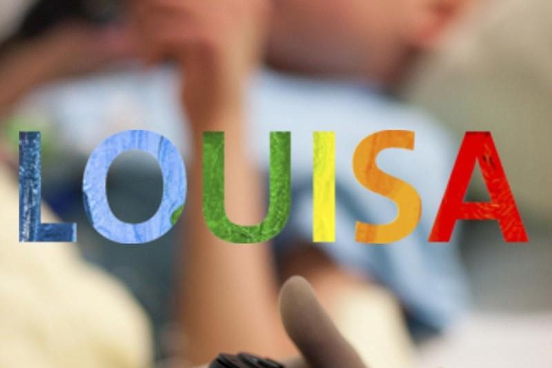 Kinder-Webseite LOUISA - Titelbild